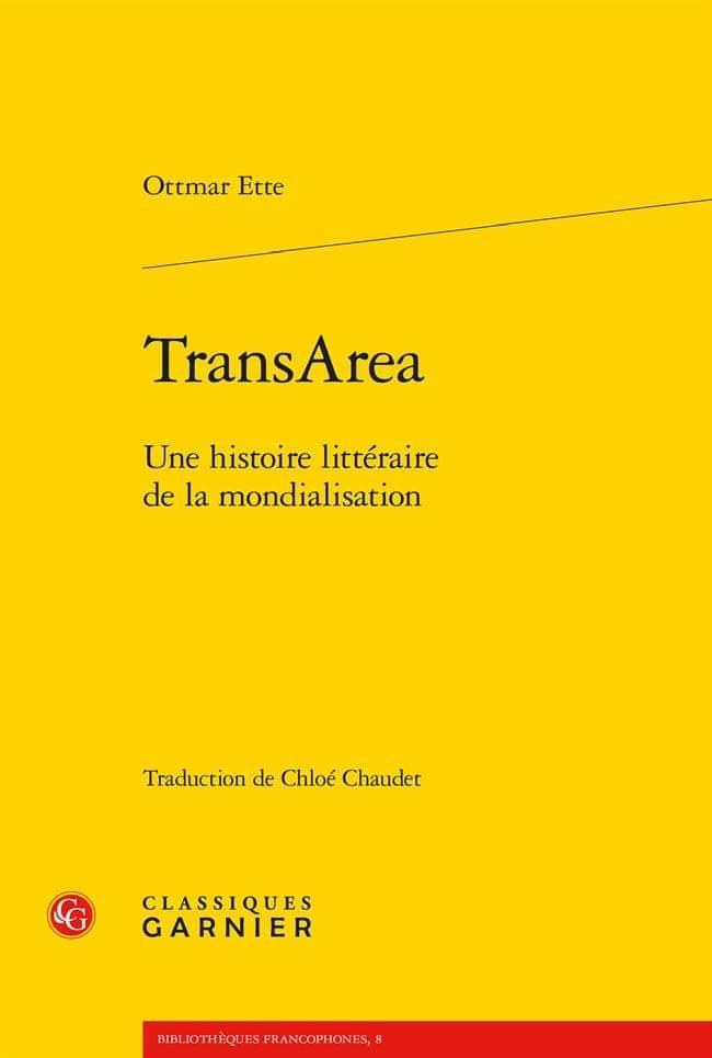 Ottmar Ette Monographie (en Français)